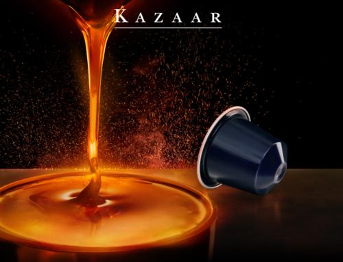 Kazaar, la Capsula Nespresso per un'emozione forte